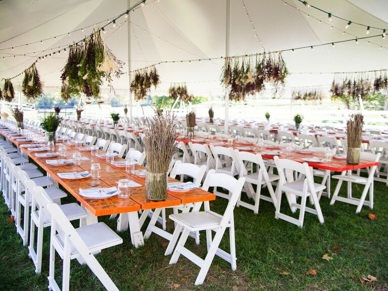 Farm-to-table reception dinner.