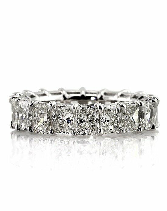 Mark Broumand 7.25ct Radiant Cut Diamond Eternity Band Engagement Ring photo