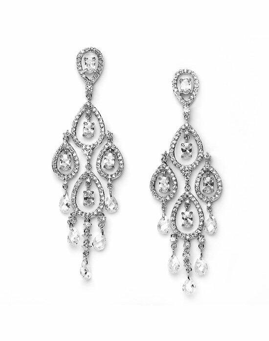 USABride Krystalyn CZ Chandelier Earrings Wedding Earrings photo