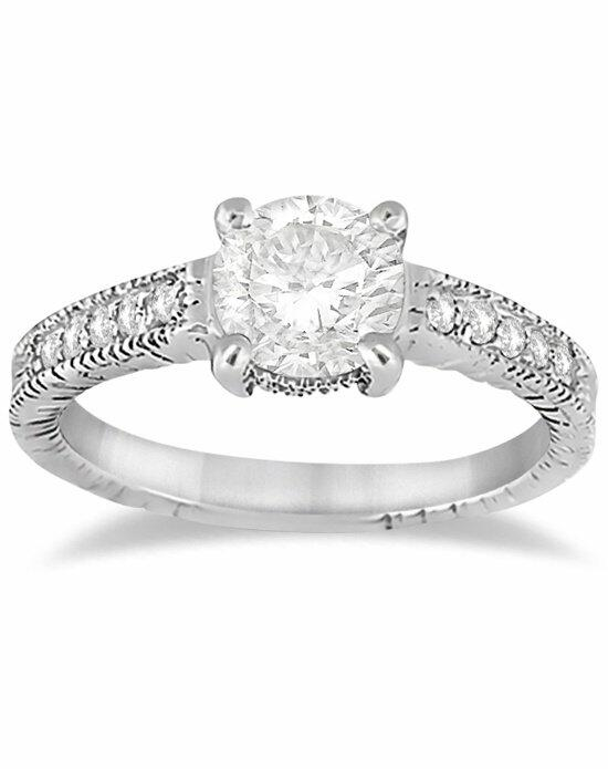 Allurez - Customized Rings U1323 Engagement Ring photo