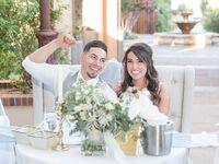 Garden wedding in Albuquerque, New Mexico