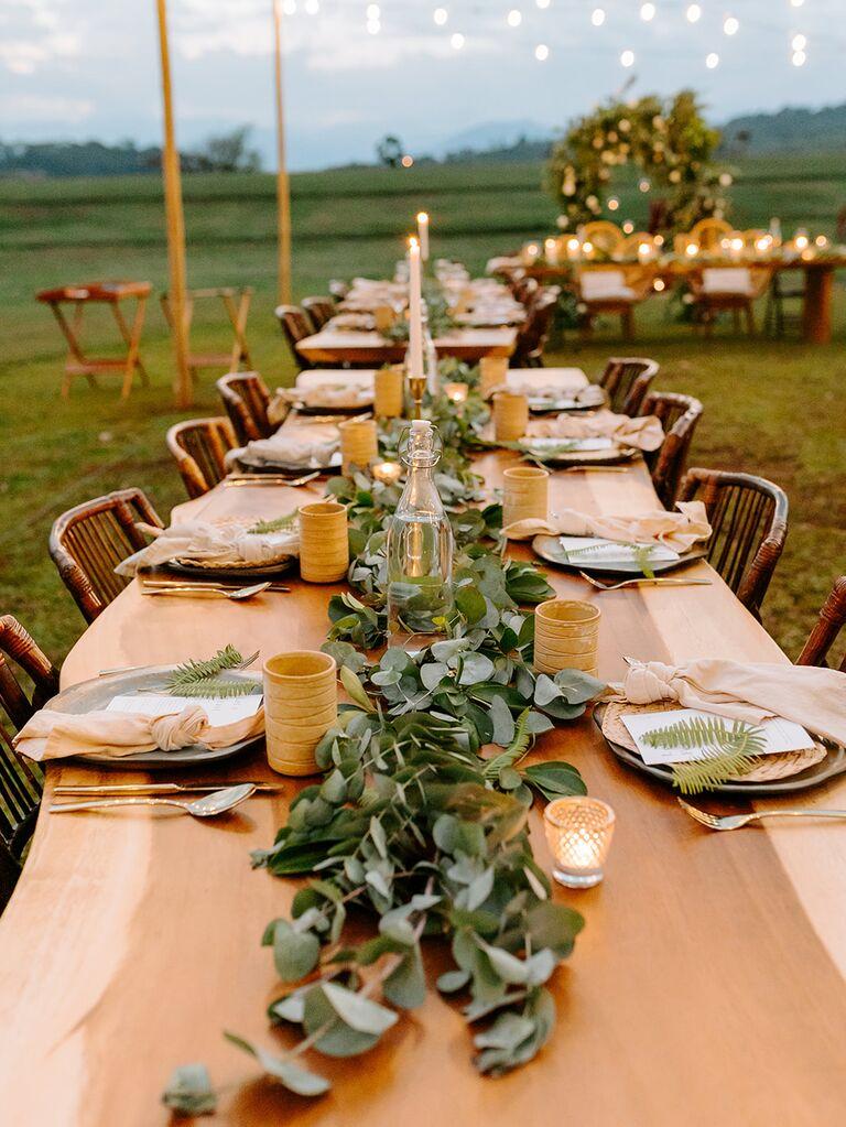 Eco-friendly table setting