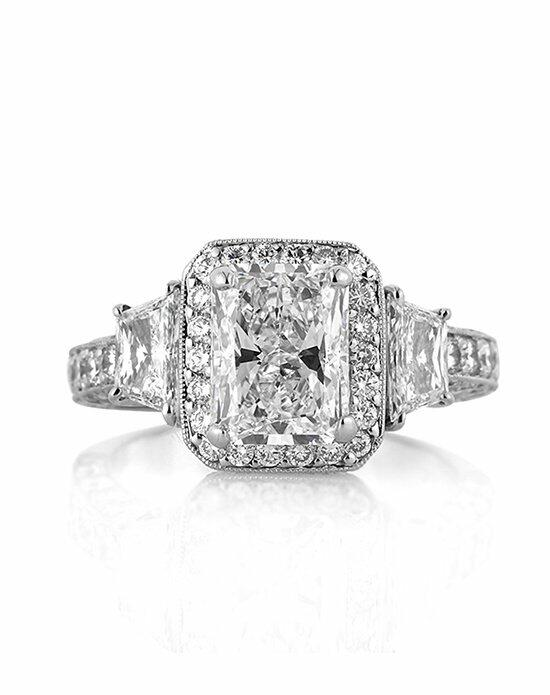 Mark Broumand 3.52ct Radiant Cut Diamond Engagement Ring Engagement Ring photo