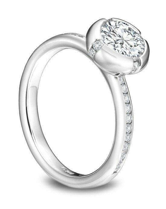 Platinum Must Haves Sholdt Platinum and Diamond Channel Set Ring Engagement Ring photo