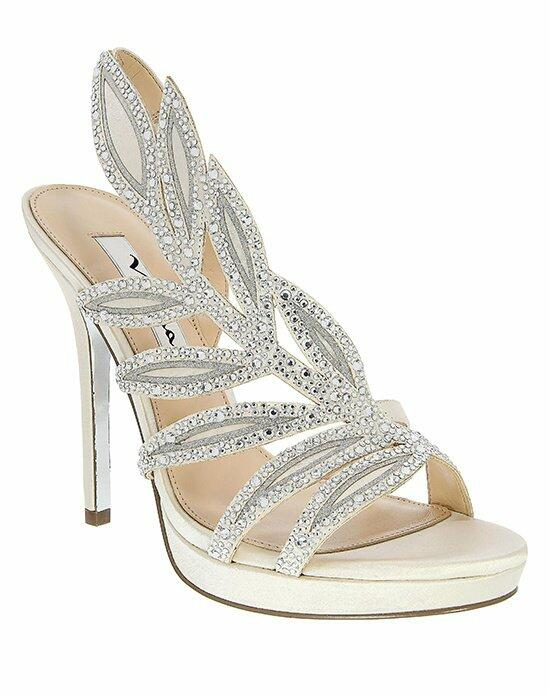 Nina Bridal FAUNA_IVORY JOLIE SILVER Wedding Shoes photo
