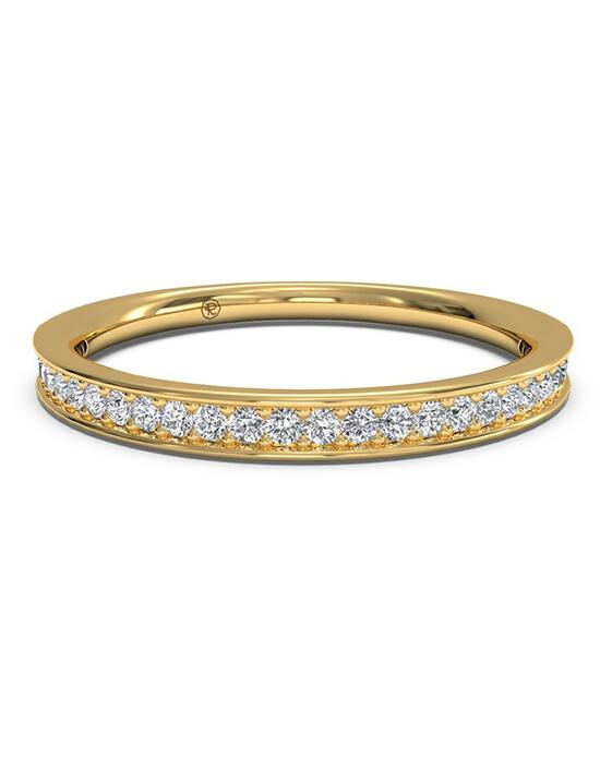 Ritani Women's Micropave Diamond Wedding Band - in 18kt Yellow Gold (0.15 CTW) Wedding Ring photo