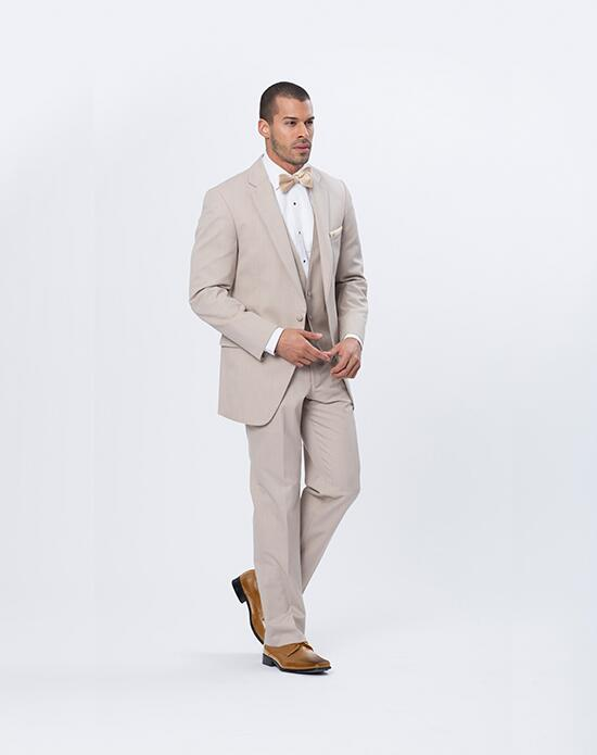 XEDO Allure Men Tan Suit Wedding Tuxedos + Suit photo