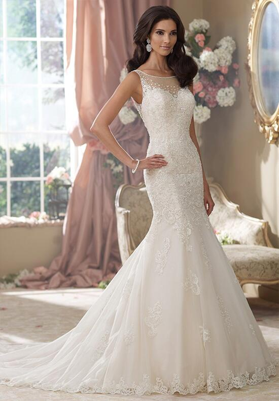 David Tutera for Mon Cheri 214207 Aly Wedding Dress photo