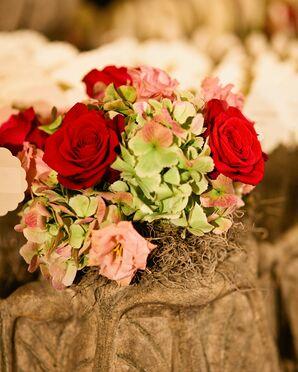 Red Rose Flower Arrangment