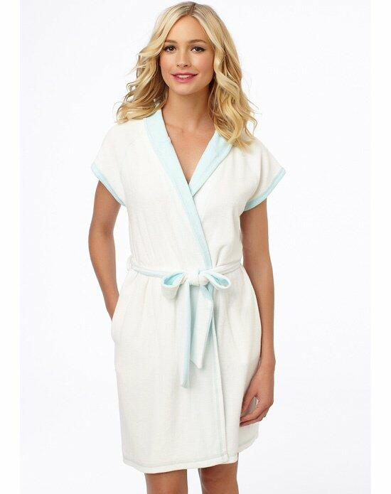 Blue by Betsey Johnson Baby Terry Bridal Robe Wedding Lingerie photo