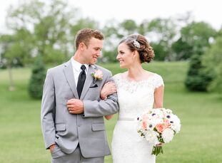 rn                    When it came to planning their wedding, Jordan Storck (25 and a high school social studies teacher) and David Pope (25 and a pow