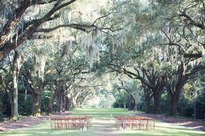 Bethany and Douglas's Organic Wedding he Legare Waring Hous