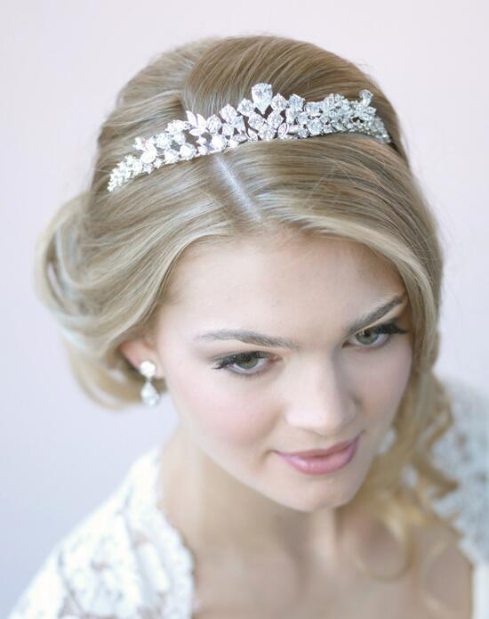 USABride CZ Floral Crown Wedding Tiaras photo