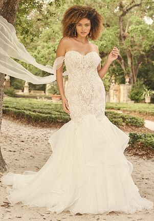Maggie Sottero LUNARIA MARIE Mermaid Wedding Dress