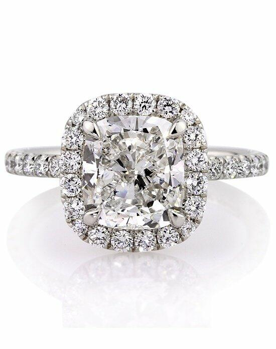 Mark Broumand 4.11 Cushion Cut Diamond Engagement Ring Engagement Ring photo