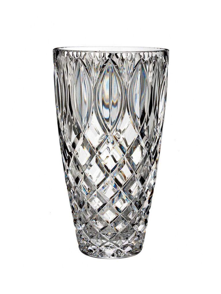Crystal vase bridal shower gift idea