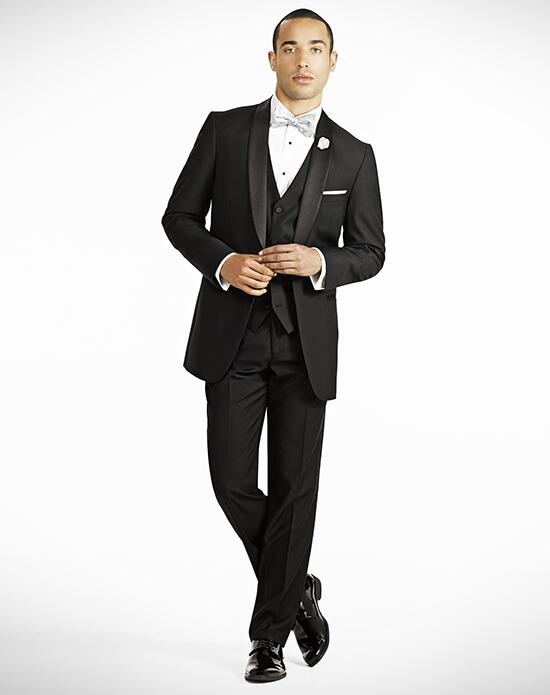 Generation Tux Shawl Lapel Modern Fit Black Tux Wedding Tuxedos + Suit photo