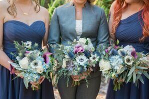Bouquets for Wedding at Summerour Studio in Atlanta, Georgia