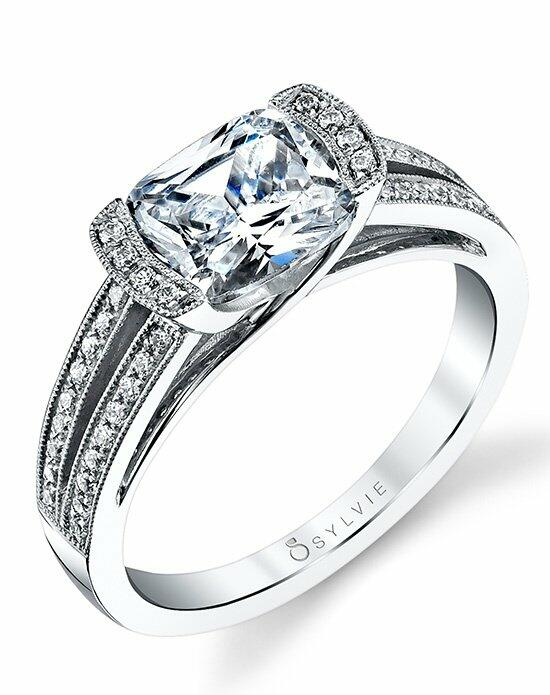 Sylvie Collection S1153 Engagement Ring photo