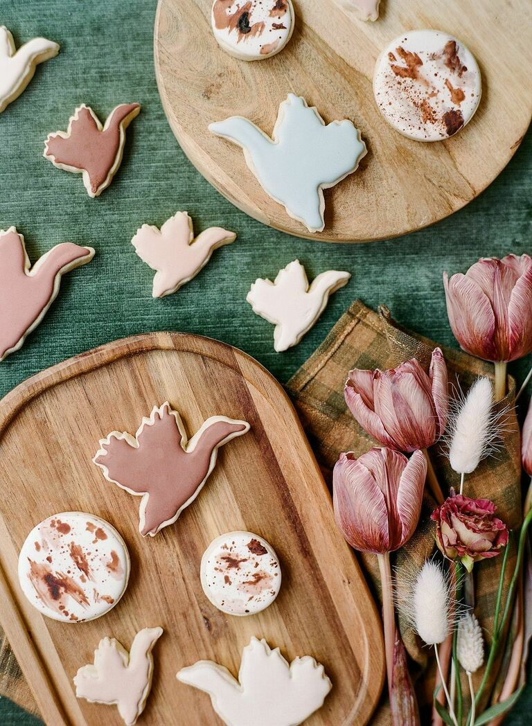 Custom duck-inspired sugar cookies