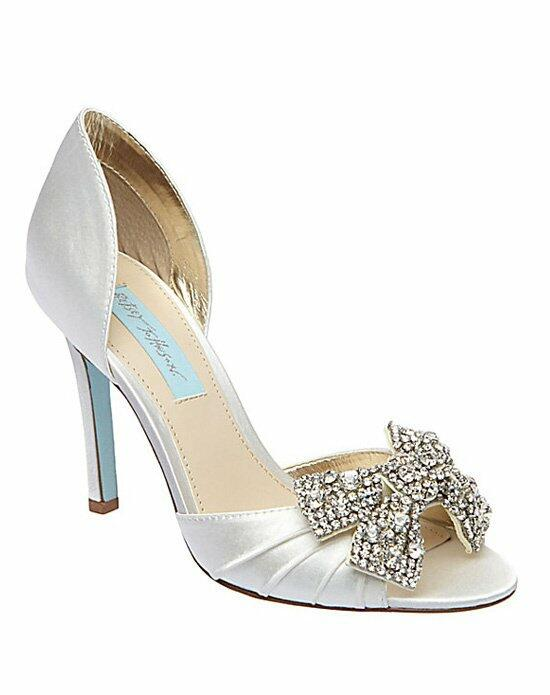 Blue by Betsey Johnson SB-Gown-Ivory Wedding Shoes photo