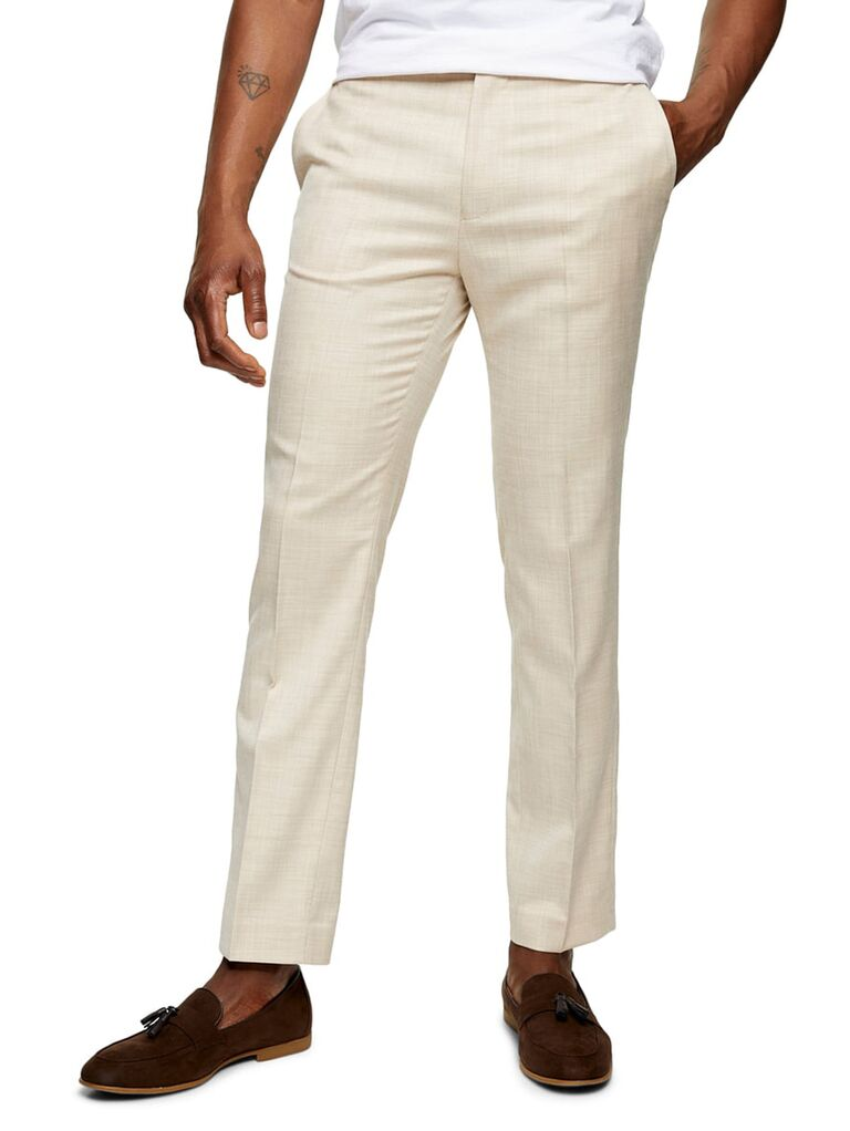 Stone suit trousers