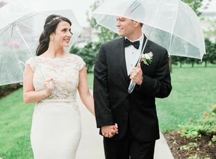 Tera and Matt knew a traditional venue wouldn't work for their contemporary wedding. They landed on the lively Asbury Hotel, just off the boardwalk, a