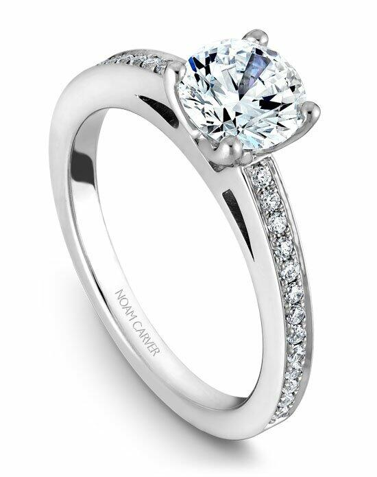 Noam Carver B036-01WS-100A Engagement Ring photo