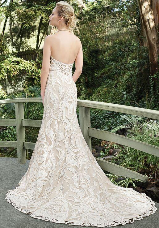 Casablanca Bridal 2265 Zinnia Sheath Wedding Dress