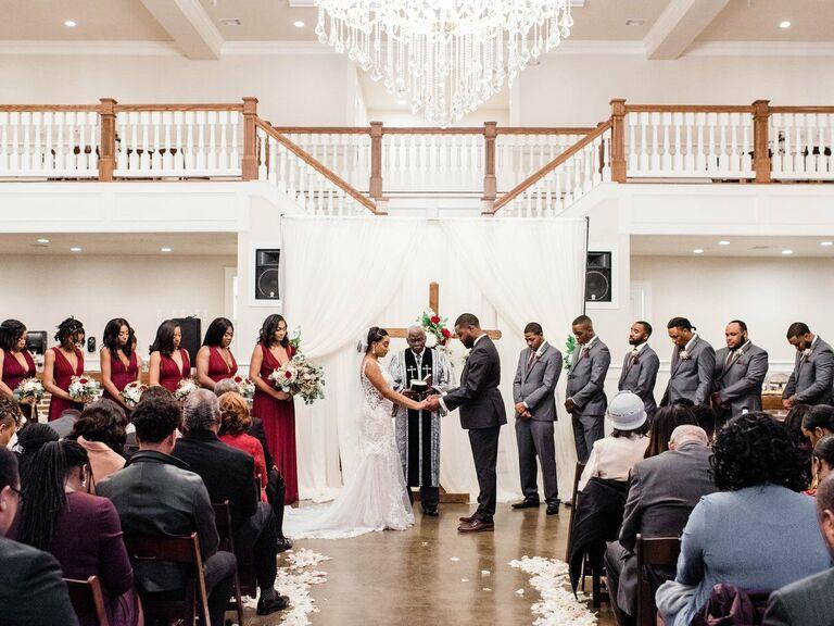 North Texas wedding venue in Angleton, Texas.