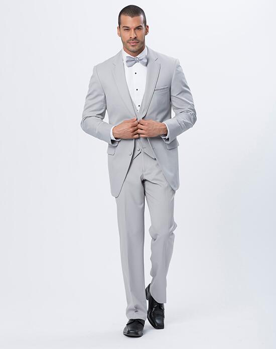 XEDO Allure Men Cement Gray suit Wedding Tuxedos + Suit photo