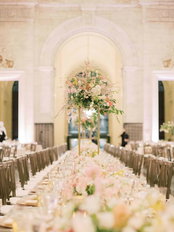 """For their Leap Day wedding, it was crucial to Marybeth Miles and Ben Weatherhead that they highlight, """"the resurgence of Detroit for our big day! Sinc"""