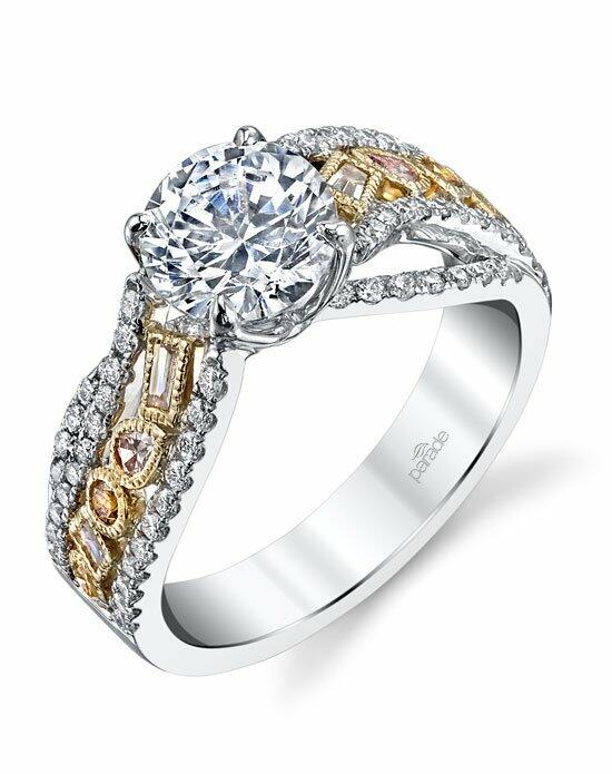 Parade Design Style R3291 from the Reverie Bridal Collection Engagement Ring photo