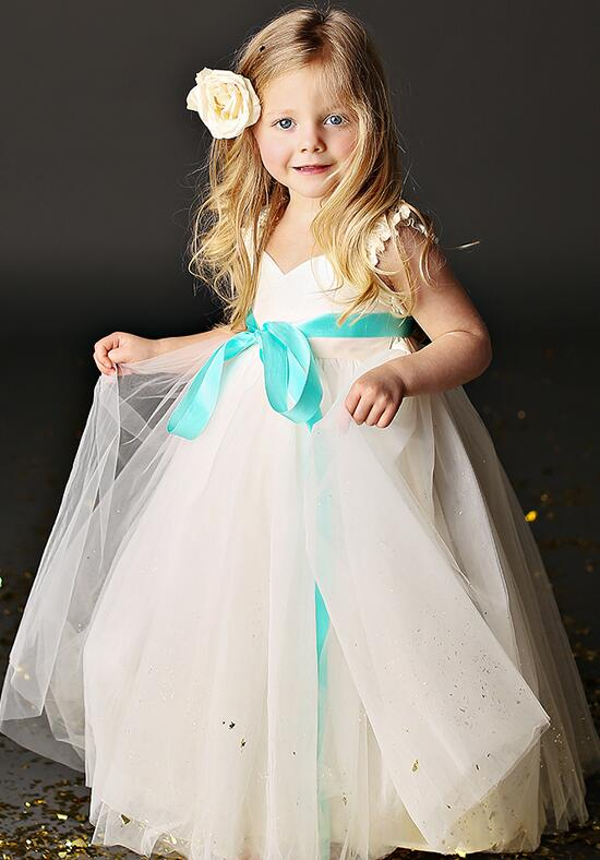 FATTIEPIE Grace Ankle Flower Girl Dress photo