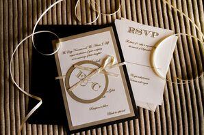 Classic Ivory Wedding Invitation