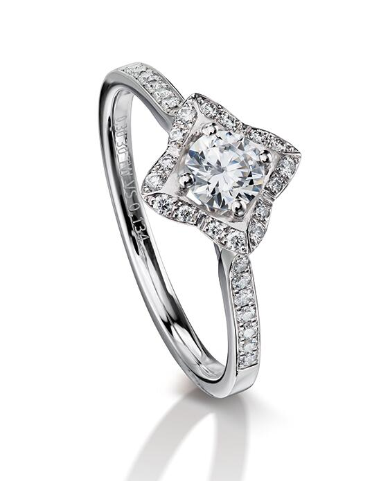 Furrer Jacot Engagement Rings 53-66820 Lily Engagement Ring photo