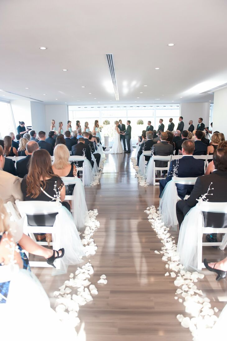 Modern White Ceremony Venue