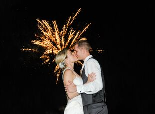 Mackenzie Gill (23 and a marketing and business analyst) and Beau Hogan's (22 and a middle school history teacher) wedding was inspired by their love