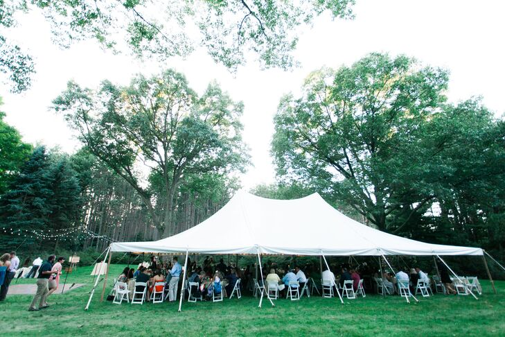 White-Tented Outdoor Reception