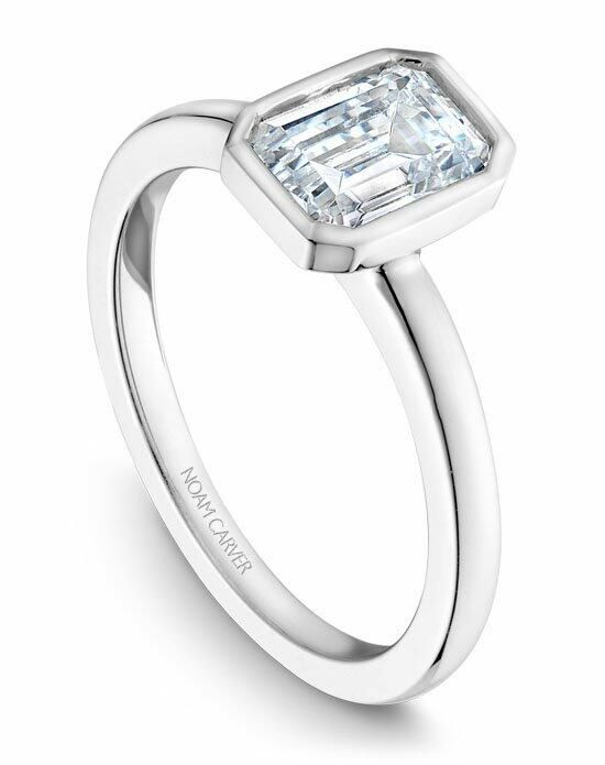 Noam Carver B095-03WS-100A Engagement Ring photo