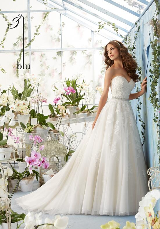 Blu by Madeline Gardner 5414 Wedding Dress photo