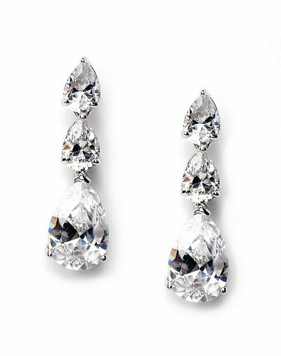 USABride Delicate CZ Earrings JE-1292 Wedding Earrings photo