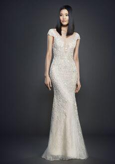 Lazaro 3702 Sheath Wedding Dress