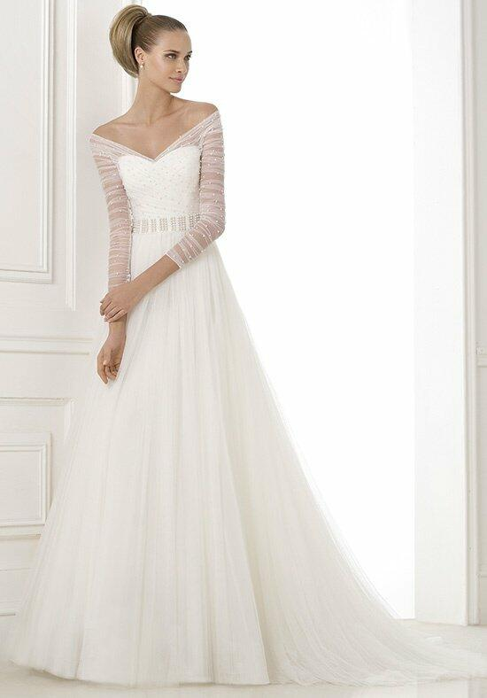 Pronovias berila wedding dress the knot for Wedding registry the knot