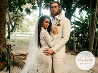 michael kopech and vanessa morgan wedding photos