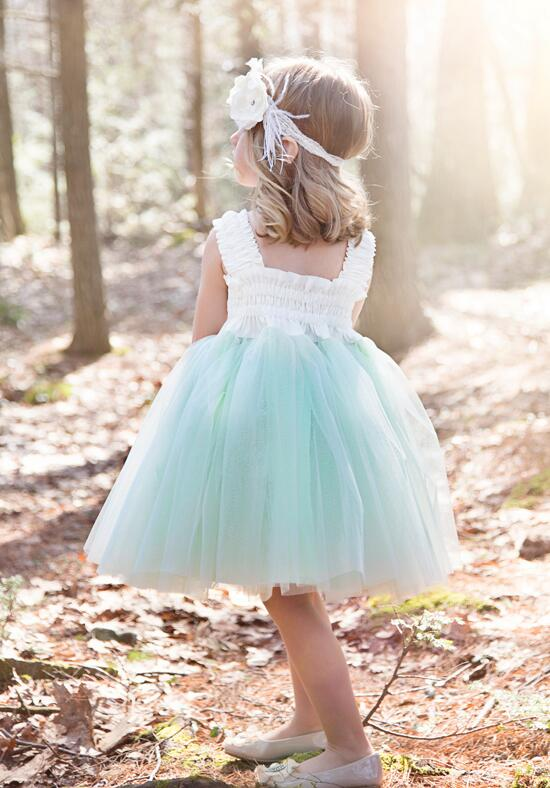 FATTIEPIE Mint Flower Girl Dress photo