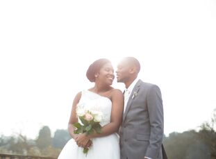 April Kitaka (23 and a youth mentor) and Windsor Kitaka (26 and a software developer) had an airy, classic wedding in Newport, Essex, England. With a