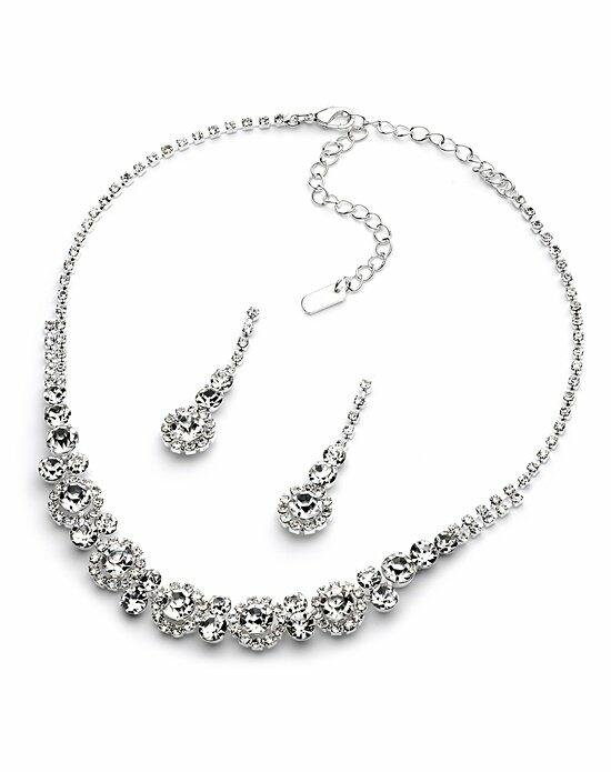 USABride Jenna Rhinestone Jewelry Set Wedding Necklaces photo