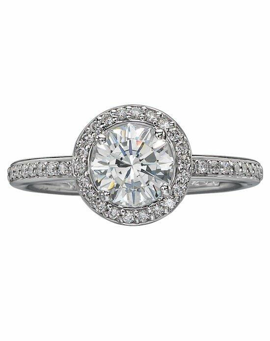 Christopher Designs 94R-RD100 Engagement Ring photo
