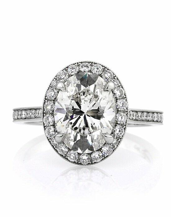 Mark Broumand 3.71ct Oval Cut Diamond Engagement Ring Engagement Ring photo